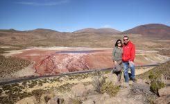 Laguna roja… ¿verde y amarilla?