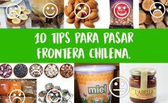 Qué alimentos ingresar a Chile sin problemas: 10 tips para superar la frontera